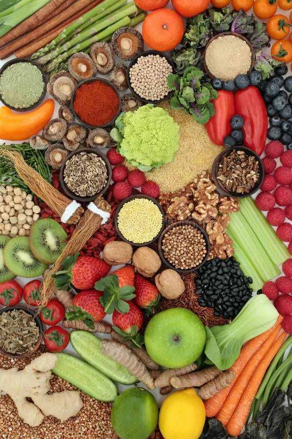 Super Food for Liver Detox stock photography