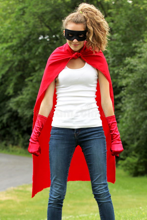 Super Girl Royalty Free Stock Image