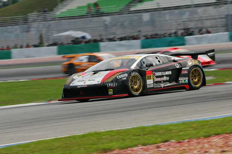 Download Super GT Championship In Action Editorial Photography - Image of gt300, speedway: 14859917