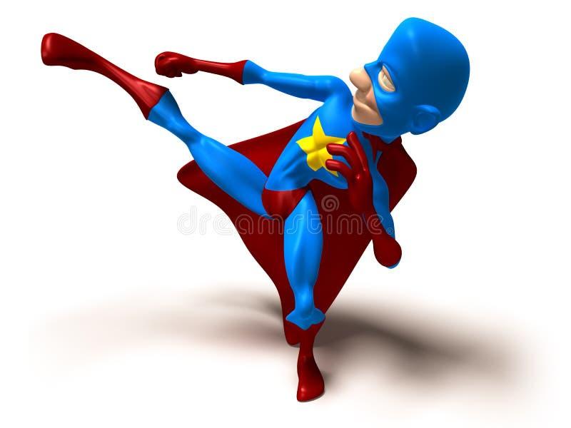 Super héroe ilustración del vector