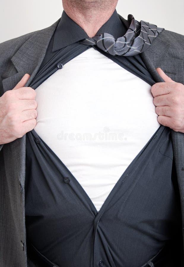 Super héroe del asunto imagen de archivo