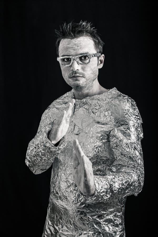 Super héroe extranjero fotografía de archivo libre de regalías