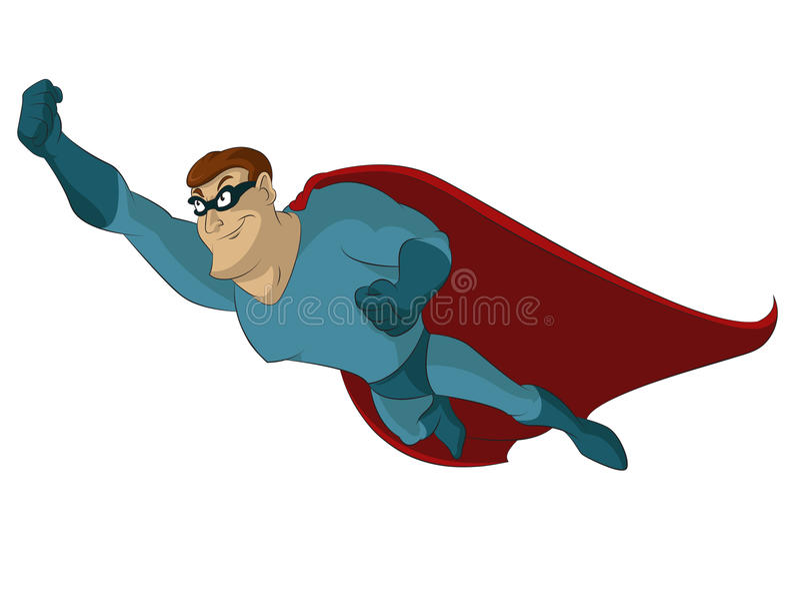 Super héros illustration libre de droits