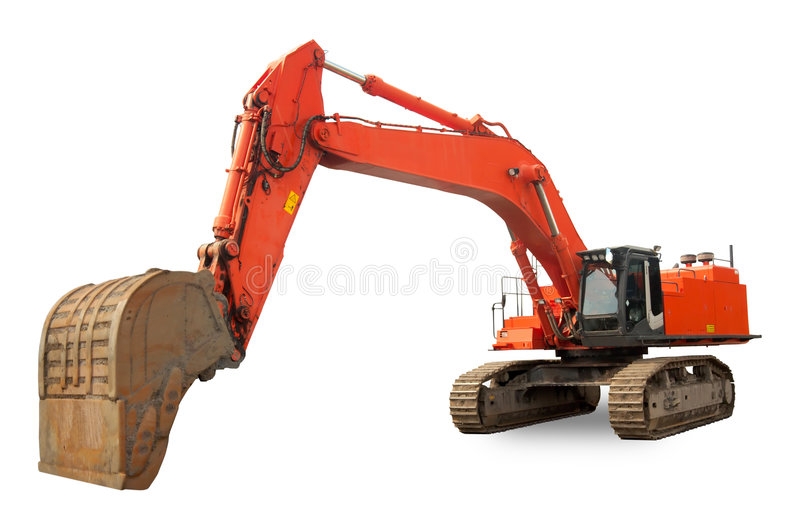 Download Super heavy duty Excavator stock photo. Image of tractor - 1292846