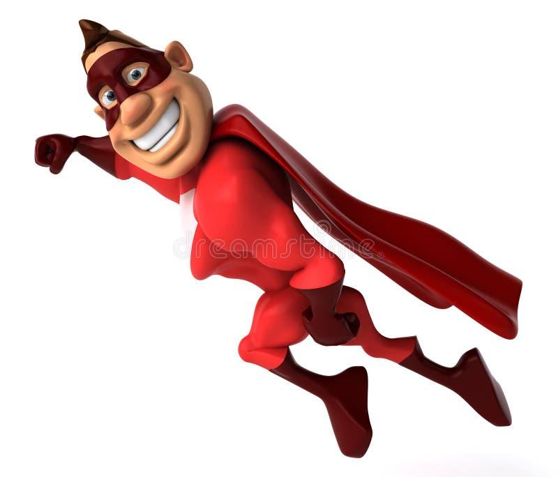 Super-herói ilustração royalty free