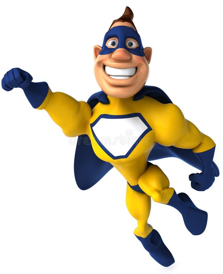 Super-herói ilustração stock