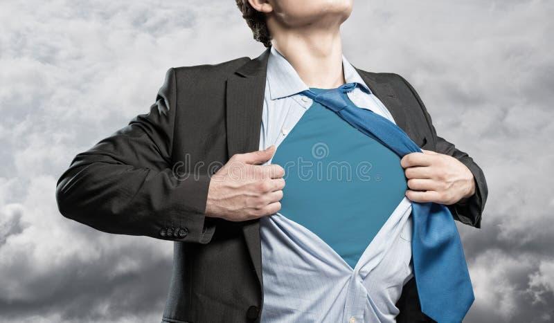 Super-herói fotografia de stock