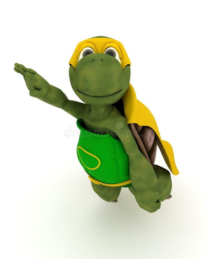 Super-herói da tartaruga ilustração royalty free