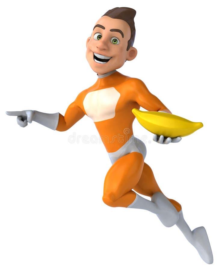 Super-herói do divertimento ilustração royalty free