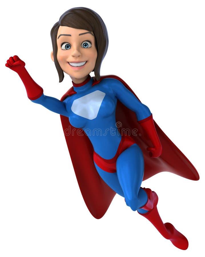 Super-herói do divertimento ilustração stock