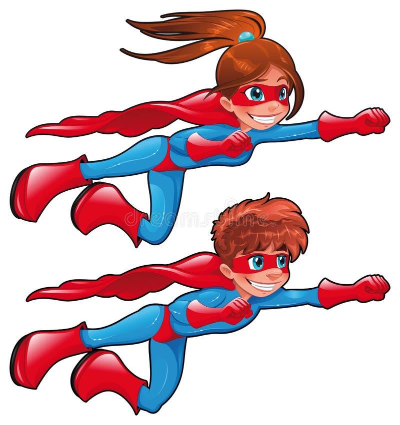 Super-herói novos. ilustração royalty free