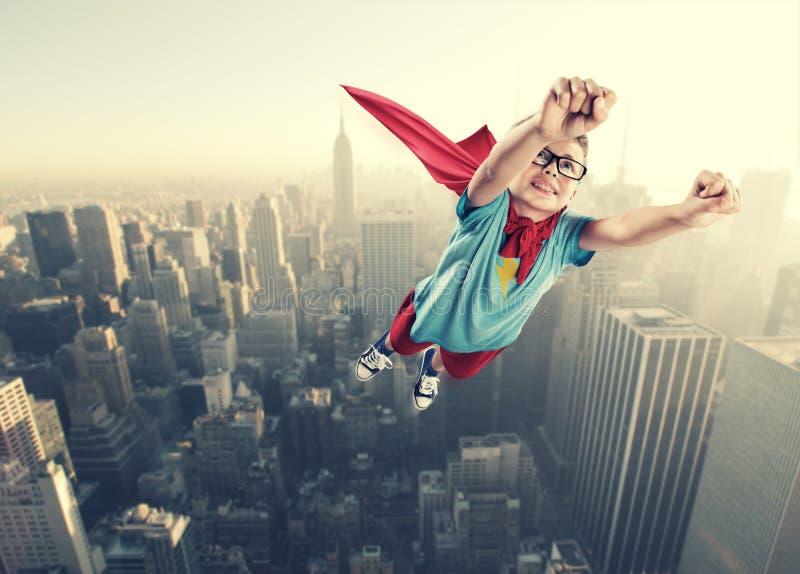Super-herói pequeno imagens de stock