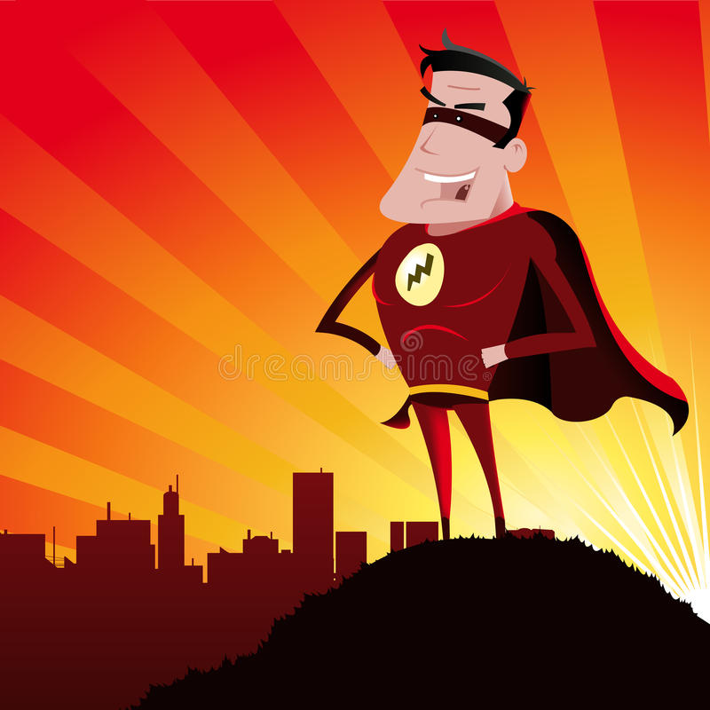 Super-hero Stock Photo
