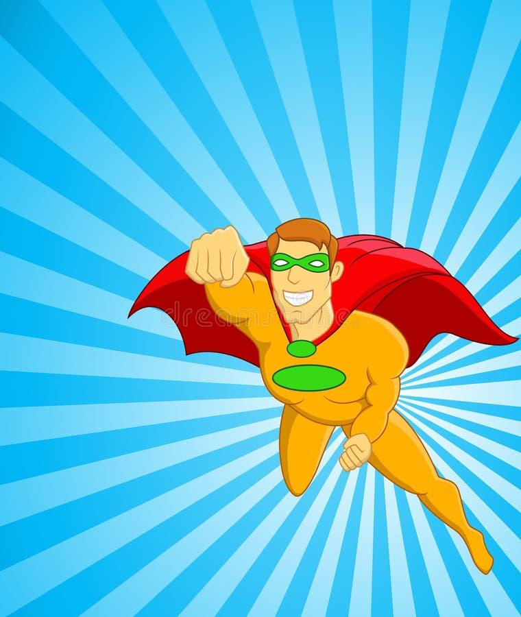 Download Super Hero stock vector. Image of muscle, burst, mighty - 23739556