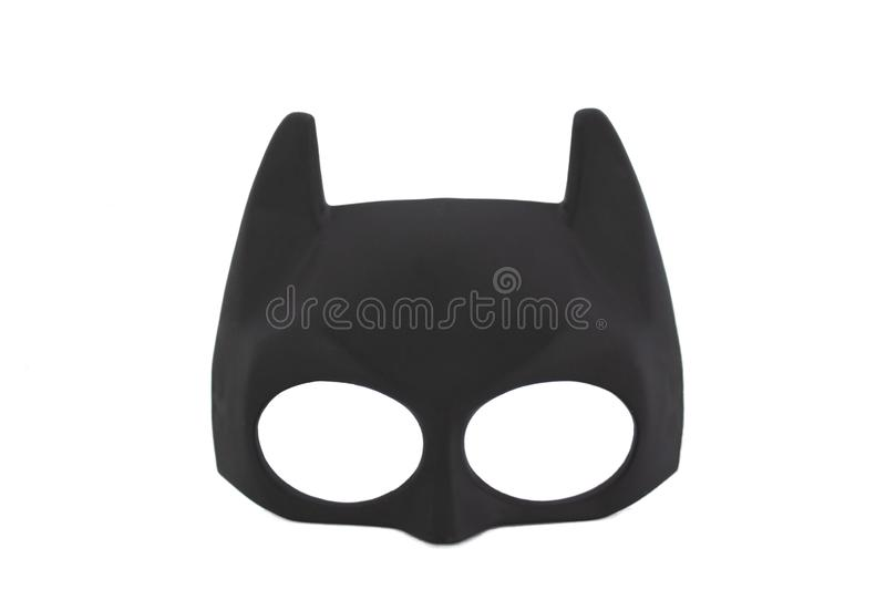 Super hero batman mask royalty free stock image
