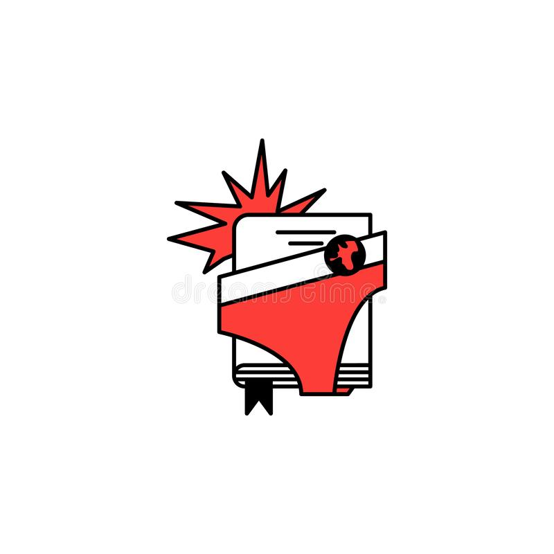 Super hero, comics icon. Element of literary genres icon for mobile concept and web apps. Detailed Super hero, comics icon can be. Used for web and mobile on stock illustration