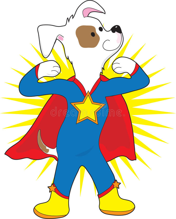 Super Hond royalty-vrije illustratie