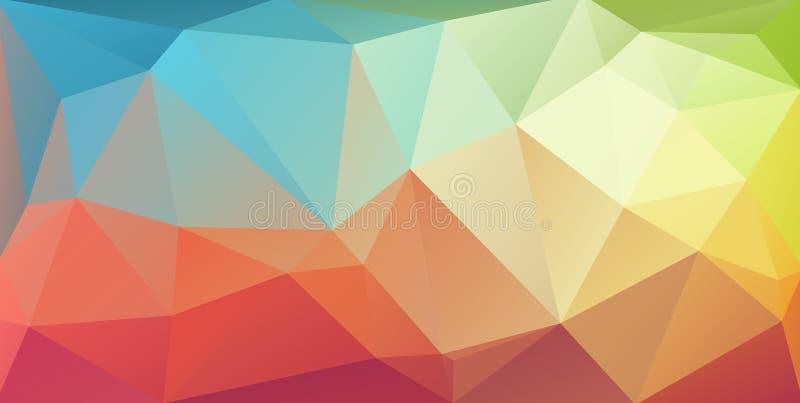 Super horyzontalny trójbok pokrywy sztandar ilustracja wektor