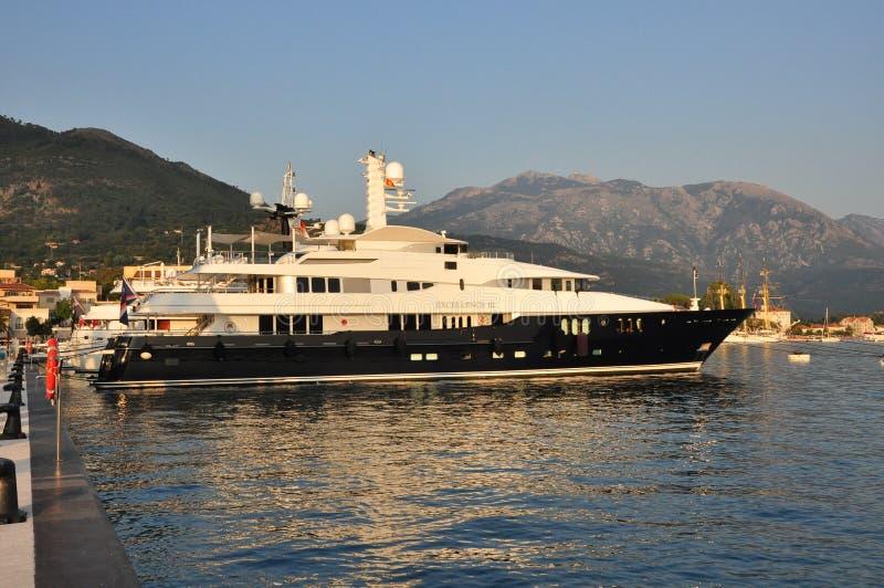 Super jacht Chorwacja zdjęcia stock