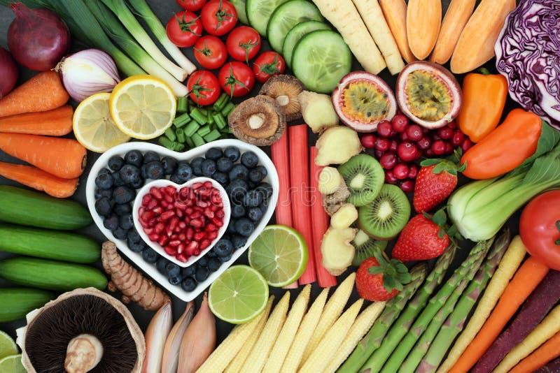 Super jedzenie dla Zdrowego łasowania zdjęcie stock
