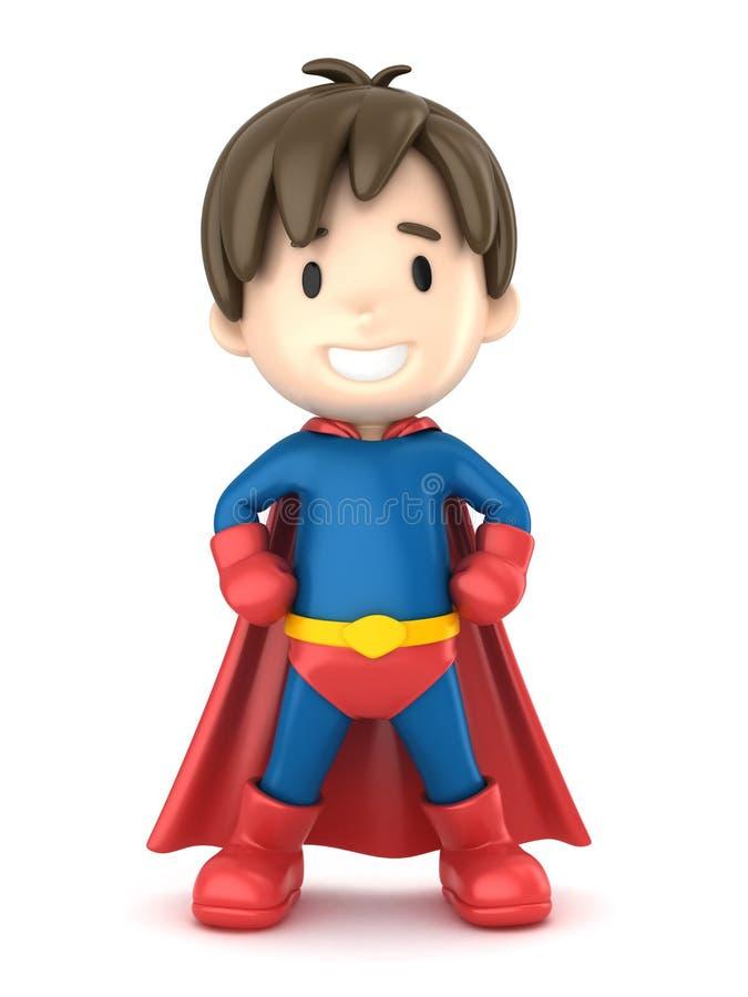 Super Jongen vector illustratie