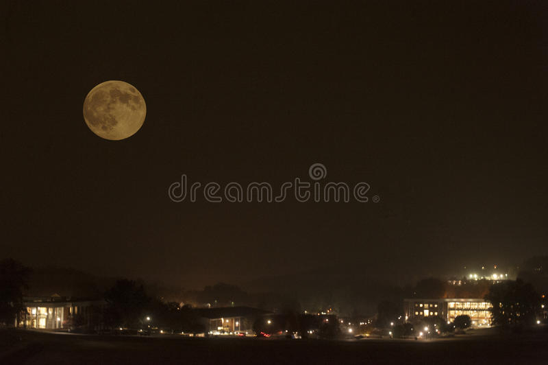 Super księżyc 2016 zdjęcia stock