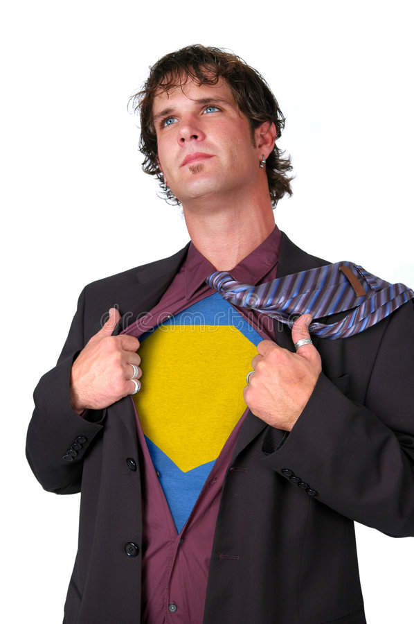 Super Leader stock photography