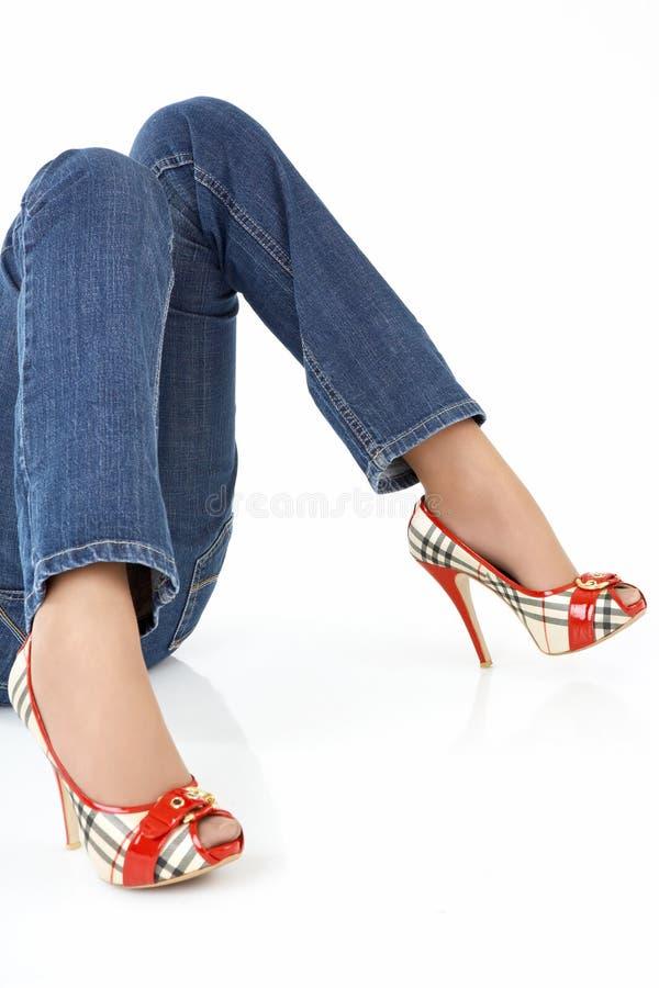 Super legs stock photography