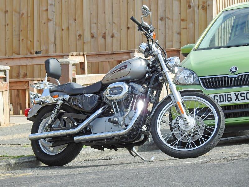 Super luksusowy harley Davidson motocyklu rower fotografia stock