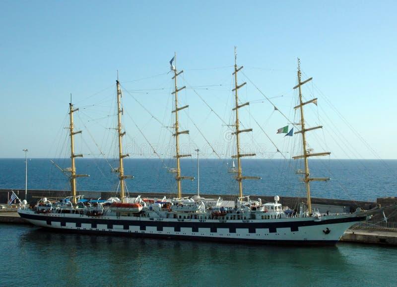 Super Luxury Ship stock photography