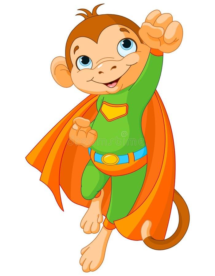 Super małpa royalty ilustracja