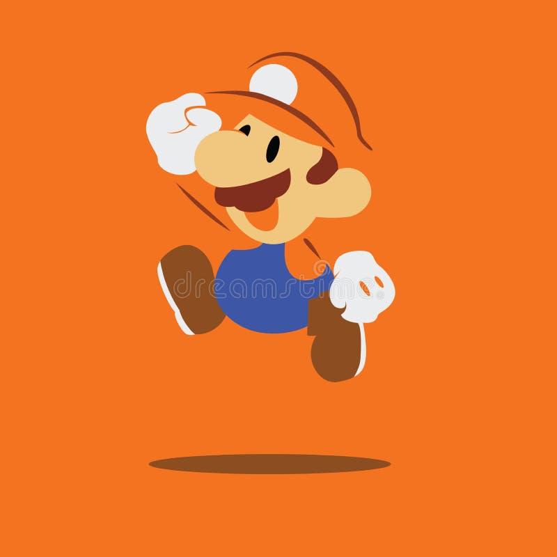 Super-Mario-bros Hintergrundtapete vektor abbildung