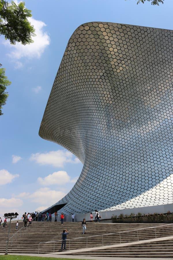 Super moderne architectuur van het soumayamuseum royalty-vrije stock afbeeldingen