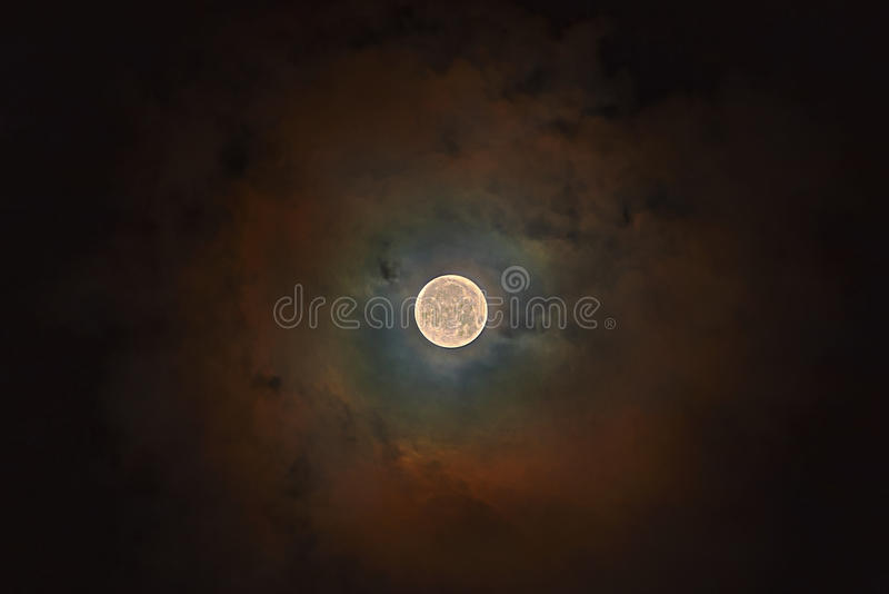 Super Moon royalty free stock images