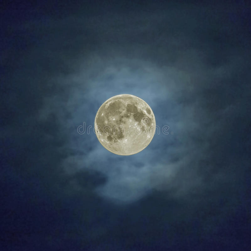 Download Super Moon stock photo. Image of lunar, bright, monthly - 31876256