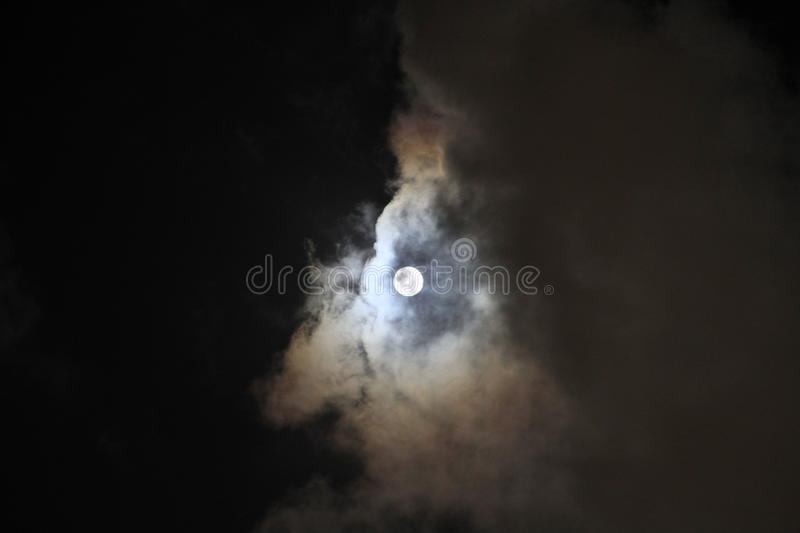 Super moon royalty free stock photo