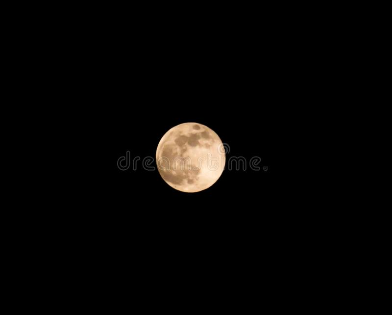 Super Moon stock photography