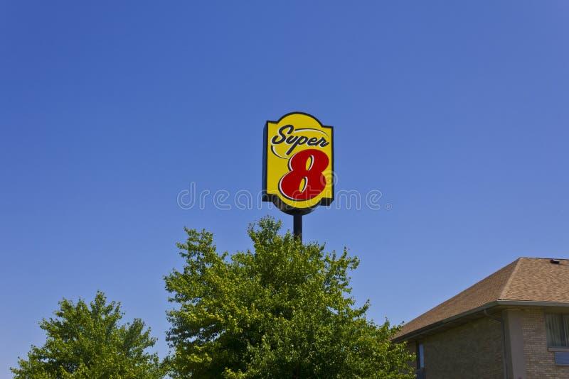 Super8 Motel II stockbilder
