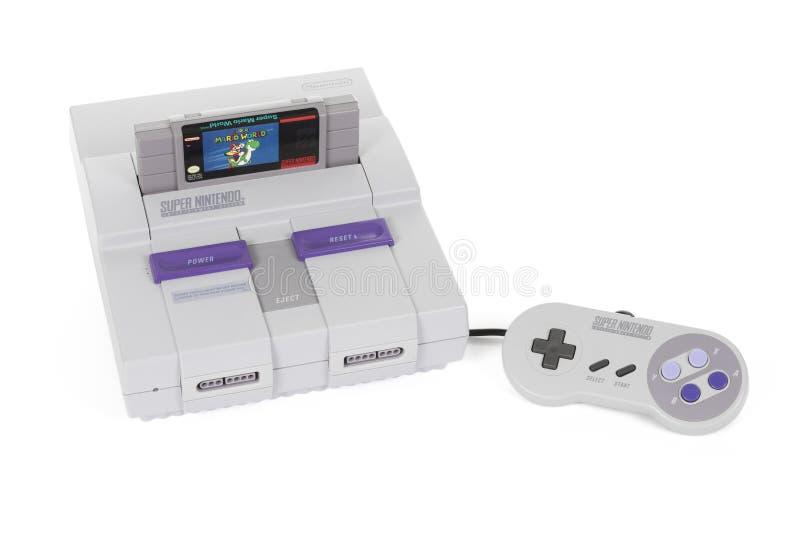 Super Nintendo Robić Nintendo zdjęcia royalty free
