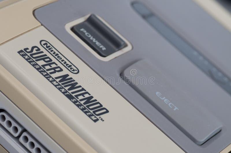 super Nintendo snes obraz stock