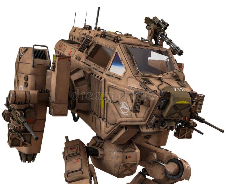 Super oorlogsmachine royalty-vrije illustratie