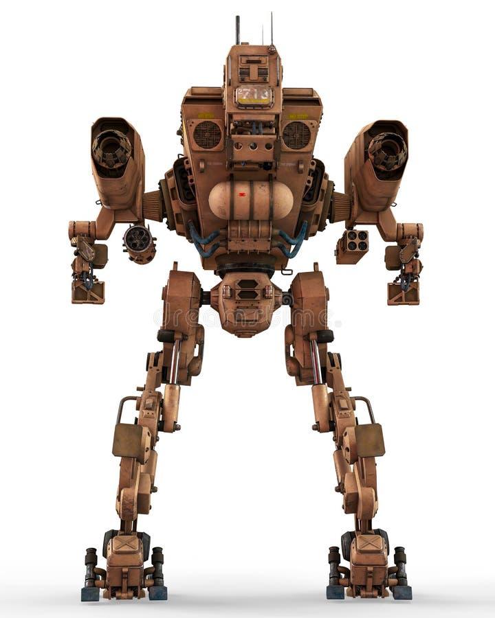 Super oorlogsmachine stock illustratie