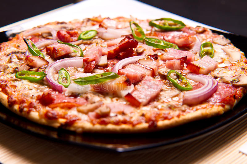 Super pizza royalty free stock image