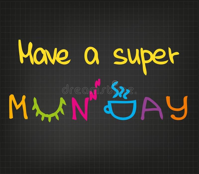 Super Poniedziałek ilustracji