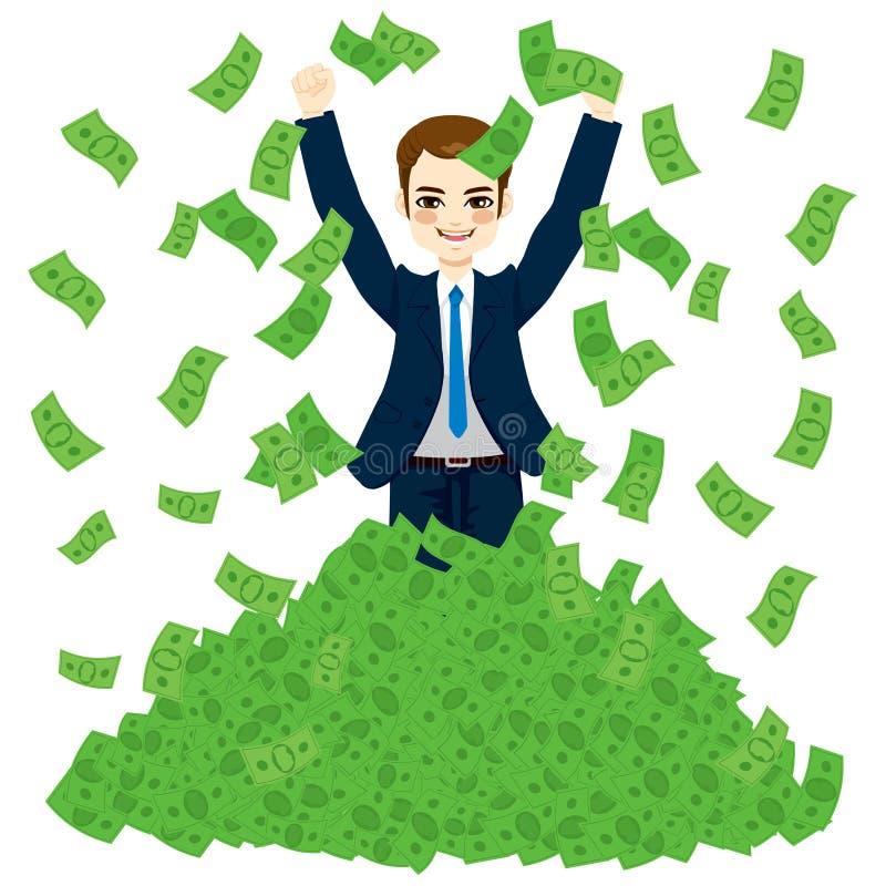 Super Rich Successful Businessman Stock Vector ...
