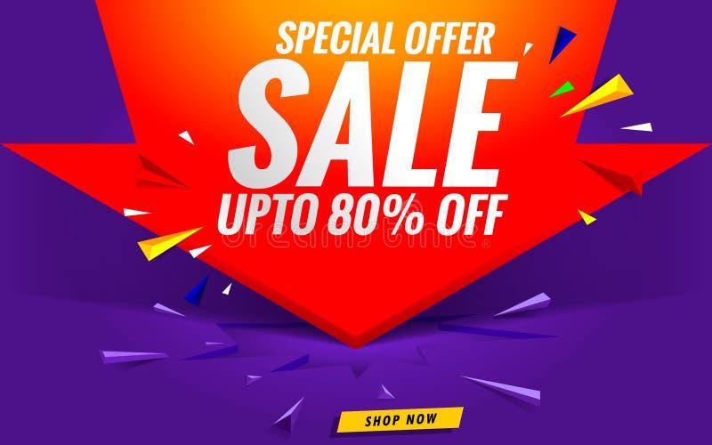 Super sale, Big sale, Final sale banner. Vector template modern stock photo
