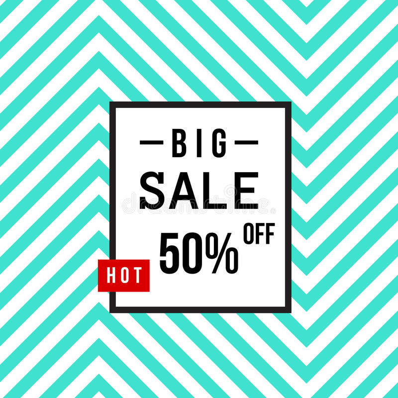 Super Sale modern banner in the Memphis style. Template Sale. Big Sale. Special offer. vector illustration