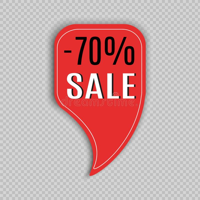 Super Sale And Special Offer Paper Banner. Sale Background