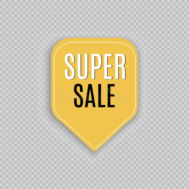 Super Sale paper banner. Sale background. Vector illustration. Super Sale paper banner. Sale background. Super Sale and special offer. Vector illustration vector illustration