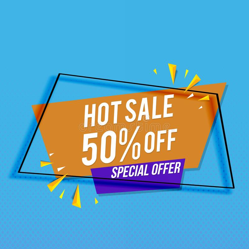Super sale, Big sale, Final sale banner. Vector template modern royalty free stock photo